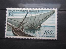 VEND BEAU TIMBRE DE POSTE AERIENNE D ' A.E.F. N° 59, XX !!! - Unused Stamps