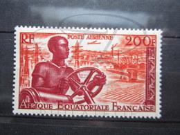 VEND BEAU TIMBRE DE POSTE AERIENNE D ' A.E.F. N° 60, XX !!! - Unused Stamps