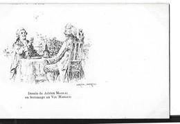 PUBLICITE     ALBUM MARIANI DESSIN   ADRIEN MOREAU   2 HOMME A TABLE  TIRAGE 1900 - Publicité