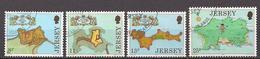 GB - Jersey  (1980)  Mi.Nr.  212 - 215  Gest. / Used  (9ad24) - Jersey
