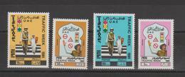 Emirats Arabes Unis 1981 Circulation 115-118 4 Val ** MNH - Emirats Arabes Unis
