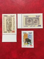 Syria MNH 2018 New Aleppo 100 Years Centenary Stamp, Tourism, Environment Issues - Syria