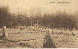 MAISSIN : Cimetière Militaire N° 1 - RARE VARIANTE - Cachet De La Poste 1932 - Paliseul