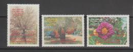 Emirats Arabes Unis 1989 Arbres 255-257 3 Val ** MNH - Ver. Arab. Emirate