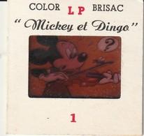 Rare Lot De 5 Diapositives Disney Mickey - Dias