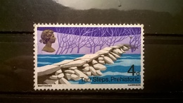 FRANCOBOLLI STAMPS GRAN BRETAGNA 1968 MNH** NUOVI SERIE PONTI TARR STEPS PREHISTORIC - 1952-.... (Elisabetta II)