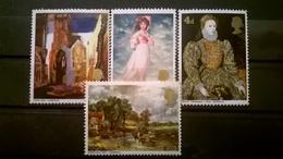 FRANCOBOLLI STAMPS GRAN BRETAGNA 1968 MNH** NUOVI SERIE COMPLETA DIPINTI - 1952-.... (Elisabetta II)