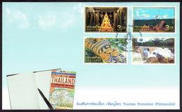 Thailand 2018, Tourism Promotion, Phitsanulok Province, FDC - Thailand