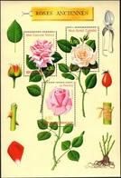 FRANCE Bloc   24 ** MNH Roses Anciennes à Lyon En 1999 Rose Fleur Rosa (CV 12 €) - Blocks & Kleinbögen
