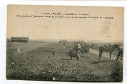 CPA  60 : CREPY En VALOIS   Guerre 14-18   A  VOIR  !!!!!!! - Crepy En Valois