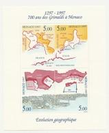 """Monaco : Bloc N°76 """" 700 Ans Des Grimaldi à Monaco """" - Neuf** TTB - 1997 - - Blocks & Sheetlets"""