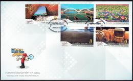 Thailand 2018, World Stamp Exhibition Bangkok, FDC - Thailand