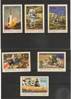 TCHAD   Apollo XV Année 1972 P.A. N° Y/T : 99/104** Côte : 13,50 € - Tchad (1960-...)