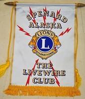 Rare Fanion Lion's Club Spenard Alaska - Organizations