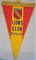 Rare Fanion Lion's Club Karlsruhe - Organizations