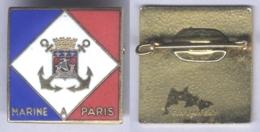 Insigne De La Marine à Paris - Marine
