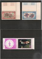 TCHAD    Année 1968  P.A. N° Y/T : 44/51** Côte : 21,55 € - Tchad (1960-...)