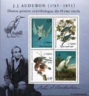 FRANCE Bloc   18 ** MNH Peintre Ornithologue J.-J. AUDUBON (CV 7 €) - Mint/Hinged