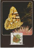 Syrie Carte Maximum 1989 Papillons 864 - Syria