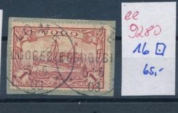 Togo   Nr. 16 O    (ee9280  ) Siehe Scan - Kolonie: Togo