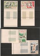 TCHAD   J.O De Tokyo Année 1964  P.A. N° Y/T : 18/21** Côte : 11,05 € - Tchad (1960-...)