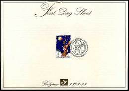 BELG.1999 2853 - FDS - Kerstmis En Nieuwjaar - FDC