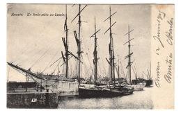 BELGIQUE - ANVERS Un Trois-Mâts Au Bassin, Pionnière - Antwerpen