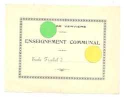 """VERVIERS Enseignepment Communal - Ecole Froebel - Image """"Le Petit Poucet"""" De Récompense Pour...? (rl) - Vieux Papiers"""