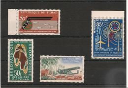 TCHAD    Année 1963  P.A. N° Y/T :9/12** - Tchad (1960-...)