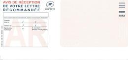 Avis De Réception De Recommandée - Neuf - Code FIM FRAB - Décembre 2012 - Other