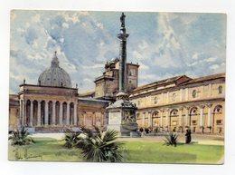 Vaticano - Il Cortile Del Belvedere - Omaggio Della Ditta Kores Di Milano - Non Viaggiata - (FDC13200) - Vaticano