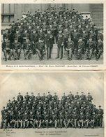 Lot De 2 CPA - Musique De La Garde Républicaine, Très Animé - Regiments