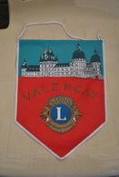 Rare Fanion Lion's Club Valençay - Vereinswesen
