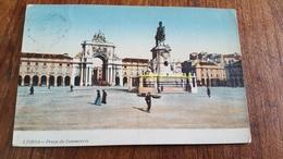 3 CPA CIRCULEES ANNÉES 1906  PORTUGAL LISBONNE - Lisboa