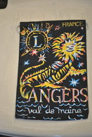 Rare Fanion Lion's Club Angers - Organizations