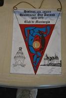 Rare Fanion Lion's Club De Montargis Gouverneur Guy Durand 1972-1973 - Organisations