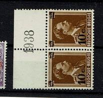 570  Paire  **  Bdf  1938 - Belgique