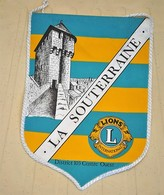 Rare Fanion Lion's Club La Souterraine - Organizations