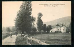 PONTCHARRA SUR TURDINE  Le Moulin ROQUILLE Carte Rare  FRCR00010 P - Pontcharra-sur-Turdine