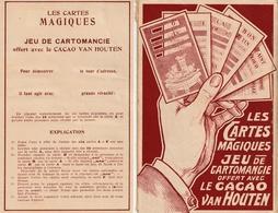 Les Cartes Magiques - Jeu De Cartomancie -CACAO VAN HOUTEN - - Cartes à Jouer