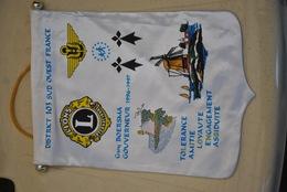 Rare Fanion Lion's Club  District 103 Sud-ouest - Vereinswesen