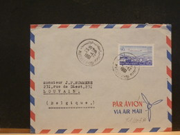 81/003A   LETTRE MAROC POUR LA BELG. 1961 - Marokko (1956-...)