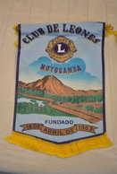 Rare Fanion Lion's Club  Moyobamba 1963 - Organizations