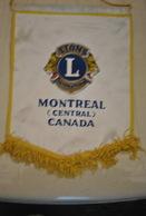Rare Fanion Lion's Club  Montréal - Organisations