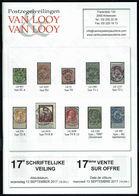 Maison VAN LOOY -  17 E Vente - Anvers - Septembre 2017. - Catalogues De Maisons De Vente