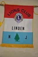 Rare Fanion Lion's Club  Linden - Organizations