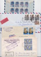 GRECE - GREECE - HELLAS - Beau Lot Varié De 348 Enveloppes Timbrées - Stamped Air Mail Covers - Cover - Stamps - Timbres - Collections