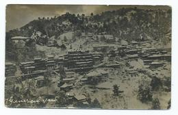 India Postcard Simla General View With Mountain Rp Pre War UNUSED - India