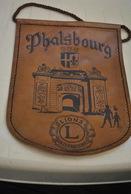 Rare Fanion Lion's Club Phalsbourg - Organisations