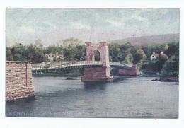 Ireland Postcard Kenmare Suspension Bridge Co.kerry. No Publisher Unused - Kerry